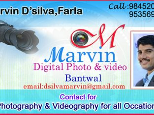 Marvin Digital Videography