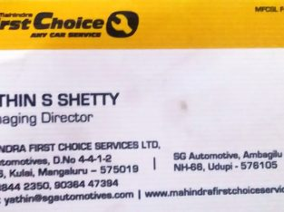 MAHINDRA FIRST CHOICE SERVICE LTD