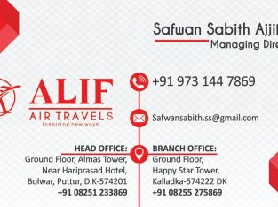Alif Air Travels