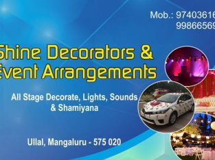 Shine Decorators and Event Arrangements