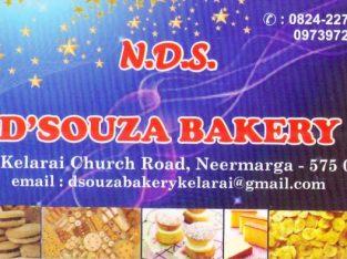 N D S Dsouza Bakery