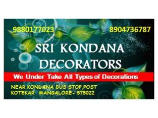 Sri Kondana Decorators