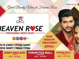Heaven Rose Professional Unisex Salon