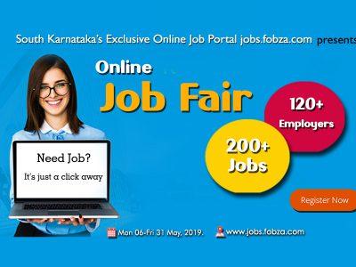An Online Job Fair – A Novel Effort.