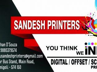 Sandesh Printers