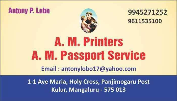 A. M. Passport Services