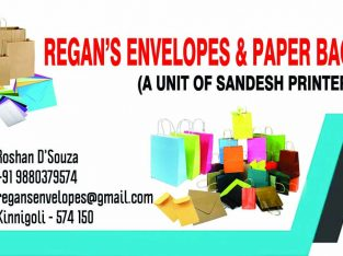 Regan's Envelopes & Paper Bags