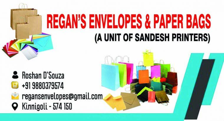 Regan's Envelopes & Paper Bags