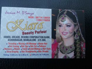 Kiara Ladies Beauty Parlour