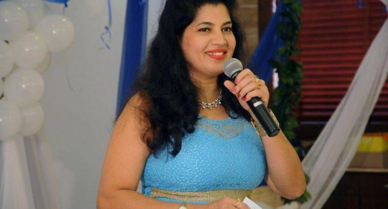 MC Evelyn D'Souza