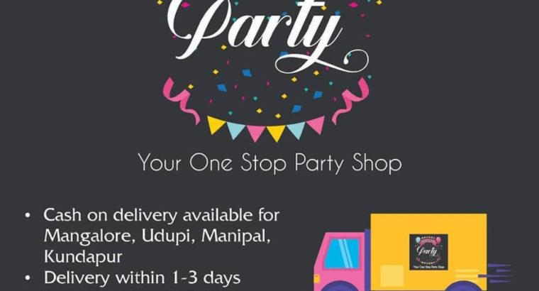 Pop Up Party Store