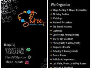 Shree Decorations & Events
