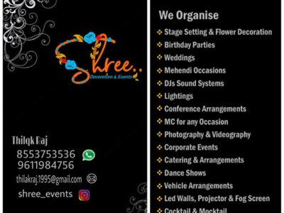 Shree Decorations & Events