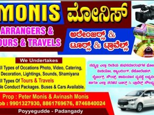 Monis Arrangers & Tours & Travels