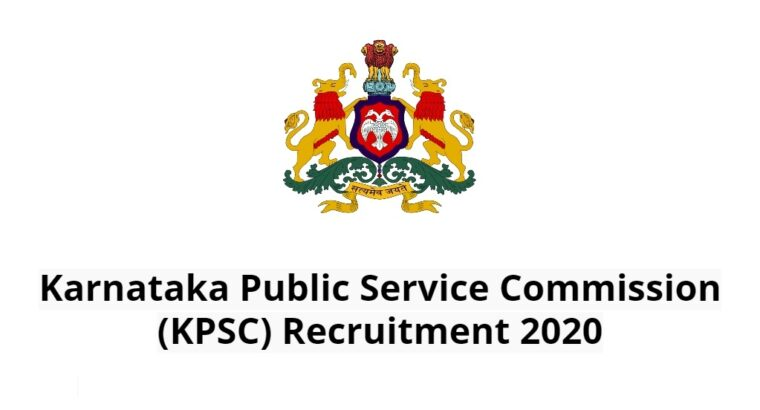 Details of 1789 posts newly published in the Karnataka Public Service Commission.